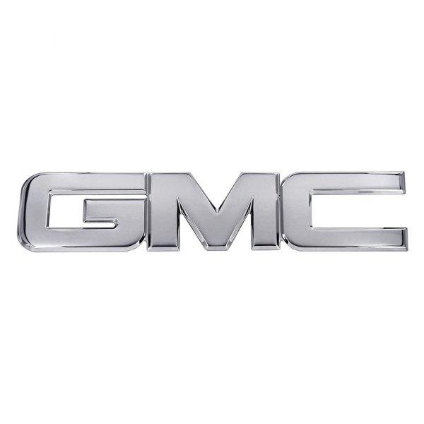 ami® 96500c - gmc style chrome grille emblem