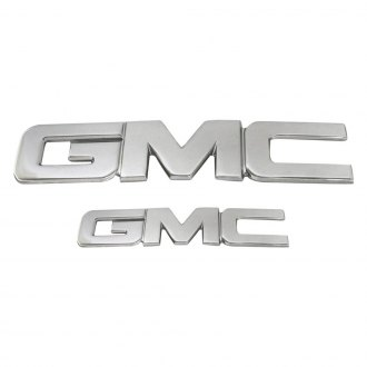 AMI® - GMC Style Polished Grille and Tailgate Emblems