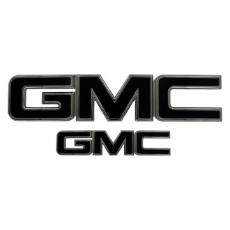 AMI® - GMC Style Black Grille and Tailgate Emblems
