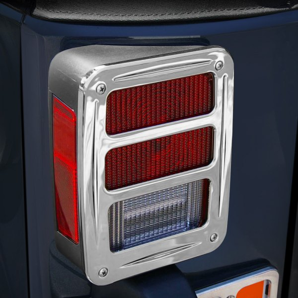 AMI® - Chrome Billet Tail Light Covers
