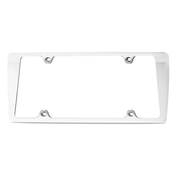 AMI® - Tapered Edge Plain Style License Plate Frame