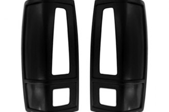 AMI® - V-Tech French Cuts Style Black Tail Light Covers