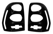 AMI® - V-Tech Chevy Bowtie Black Tail Light Covers