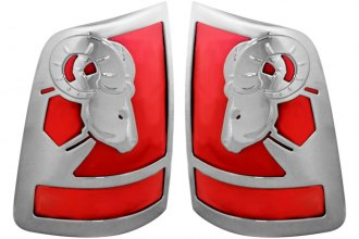 AMI® V27884C - V-Tech Big Horns 3D Style Chrome Tail Light Covers