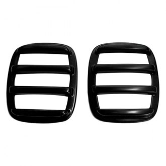 AMI® - V-Tech Slotted Style Black Tail Light Covers