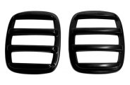 AMI® - V-Tech Slotted Style Black Slotted Tail Light Covers