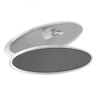"AMI® - 6"" Plain Oval Rear View Mirror"