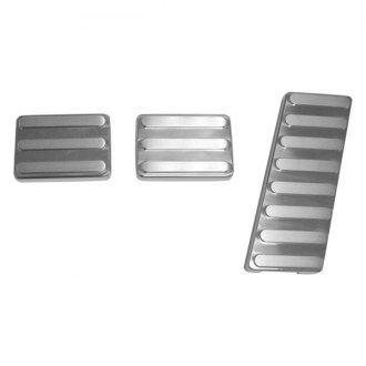 AMI® - Lined Style Polished Billet Pedal Pads