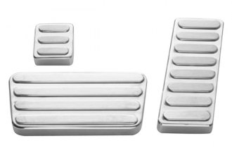 AMI® 90L - Lined Style Polished Billet Pedal Pads