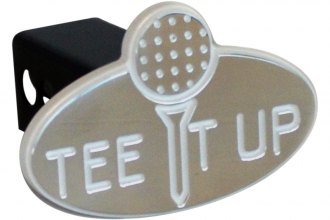 "AMI® - ""Tee It Up"" Polished Hitch Cover"