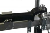 AMI® - Universal Hang-A-Hitch™ Ball Mount Storage - Installed on Trailer