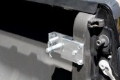 AMI® - Universal Hang-A-Hitch™ Ball Mount Storage - Installed on Truck
