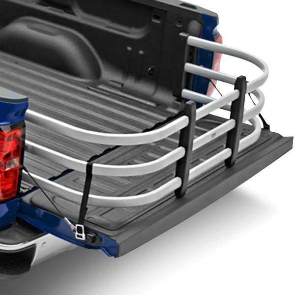Truck Bed Extender for Full Size Trucks by Amp Research Bed XTender HD Max Silver