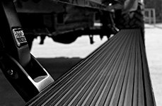 AMP Research® - Black Running Board