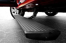 AMP Research® - PowerStep Running Board Installed