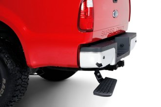 AMP Research® - BedStep™ Black Anodized Bumper Step