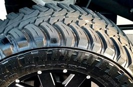 AMP® - Terrain Master M/T Tires on Chevy Silverado 1500