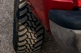 AMP® - Terrain Master M/T Tires on Dodge Ram