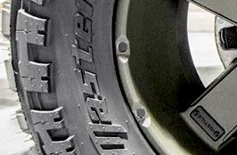 AMP® - Terrain Master M/T Tires on Jeep JK 2015
