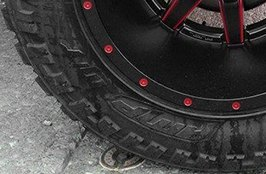 AMP® - Terrain Master M/T Tires with Fuel Wheels on Jeep Wrangler
