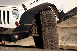 AMP® - Terrain Master M/T Tires on Jeep Wrangler Rubicon