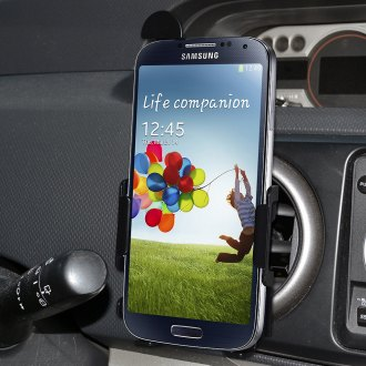 Amzer® - Black Vehicle Mount for Samsung Galaxy S4