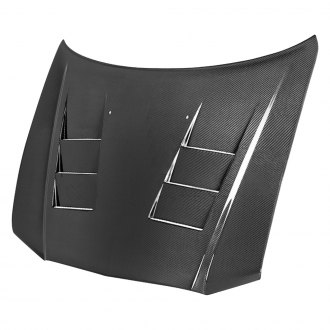 Anderson Composites® - TS-Style Carbon Fiber Hood