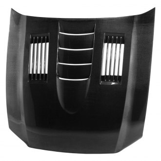 Anderson Composites® - SS-Style Carbon Fiber Hood