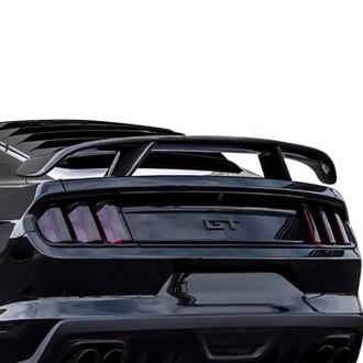 2018 ford mustang spoilers custom factory lip wing. Black Bedroom Furniture Sets. Home Design Ideas