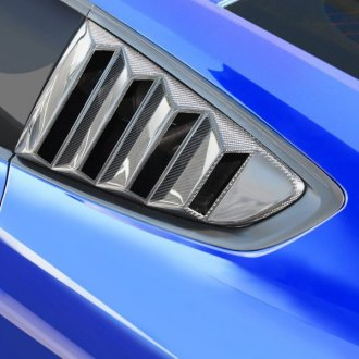 Anderson Composites® - V-Style Carbon Fiber Side Window Louvers