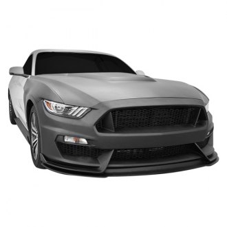 Anderson Composites® - GT350-Style Fiberglass Front Bumper with Lip (Unpainted)