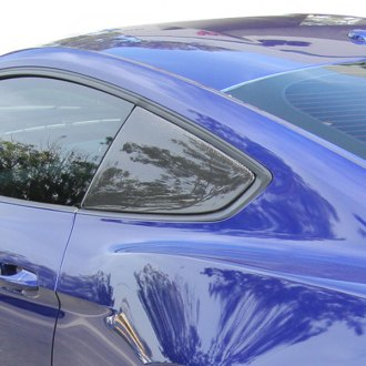 Anderson Composites® - F-Style Carbon Fiber Side Window Louvers