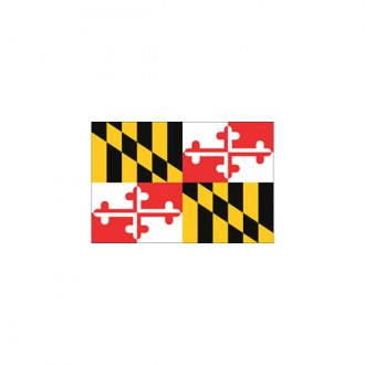 "Annin & Company® - 12"" x 18"" Maryland State Flag"