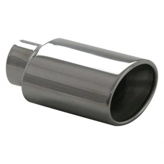 Ansa® - Silverline™ 304 SS Oval Rolled Edge Weld-On Exhaust Tip