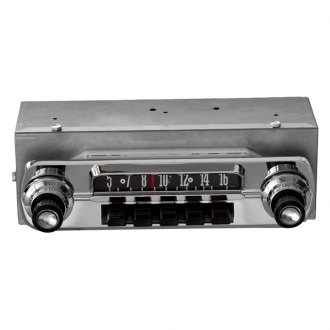Antique Automobile Radio® - AM/FM Factory Style Radio with Bluetooth and Black Pushbuttons