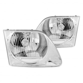 Anzo® - Chrome Euro Headlights G2