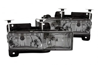 Anzo® - Smoke Euro Headlights