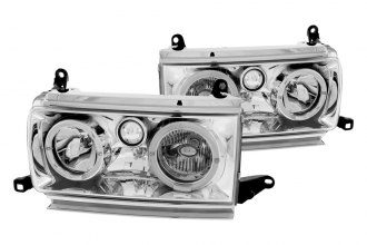 Anzo® - Chrome Halo Headlights with LEDs