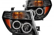 Anzo® - Black CCFL Halo Projector Headlights