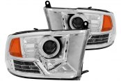 Anzo® - Chrome CCFL Halo Projector Gen 2 Headlights