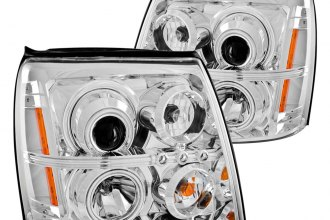 Anzo® 111176 - Chrome CCFL Halo Projector Headlights