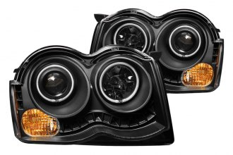 Anzo® 111213 - Black CCFL Halo Projector Headlights