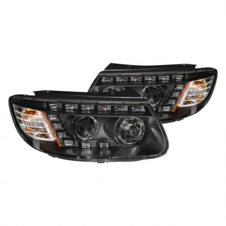 Anzo® - Black Projector LED Headlights