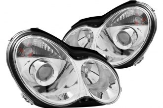 Anzo® - Chrome Halo Projector Headlights