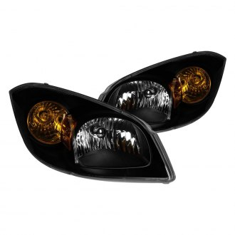 Anzo® - Black Euro Headlights