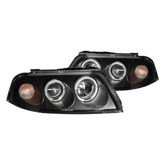 Anzo® - Black Halo Projector Headlights with LEDs G2