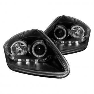 Anzo® - Black Halo R8 LED Style Projector Headlights G2