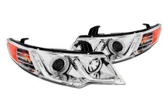 Anzo® - Chrome CCFL Halo Projector Headlights G2