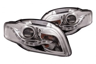 Anzo® - Chrome Halo Projector Headlights G2