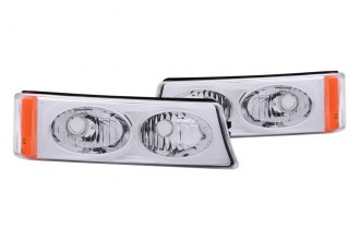 Anzo® - Chrome Euro Parking Light / Turn Signal